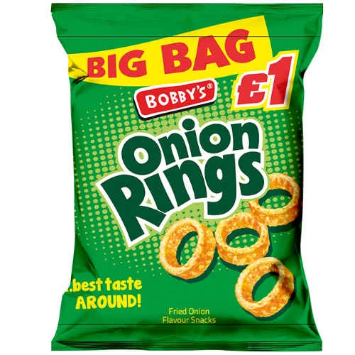 Bobby's Onion Rings £1 Bag (UK)